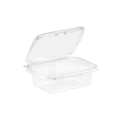 TS24 Inline Plastics 24 oz Tamper Evident Tear-Strip Container (200/Case)