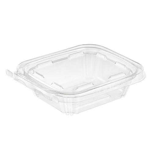 TS8 Inline Plastics 8 oz Tamper Evident Tear-Strip Container (240/Case)