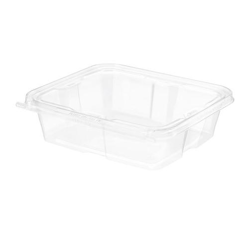 TS48 Inline Plastics 48 oz Tamper Evident Tear-Strip Container (150/Case)