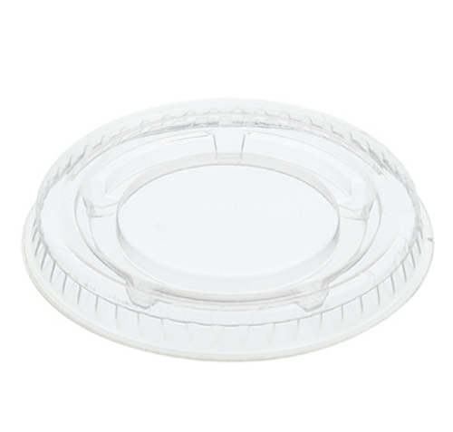 Clear Lids for 1.5, 2, 2.5 oz Clear PP Portion Cups (2500/Case)