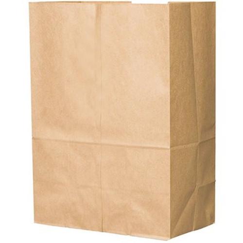 """12x7x17"""" X-Heavy 1/6 BBL Grocery Sack, 76# Kraft (400/Bundle)"""