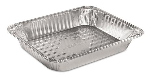 HFA 4025-40-100 Half Size Medium Depth Aluminum Foil Steam Table Pan, 40 Gauge (100/Case)