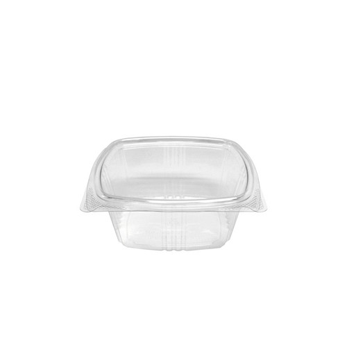 16 oz RPET Hinged Lid Deli Container (200/Case)