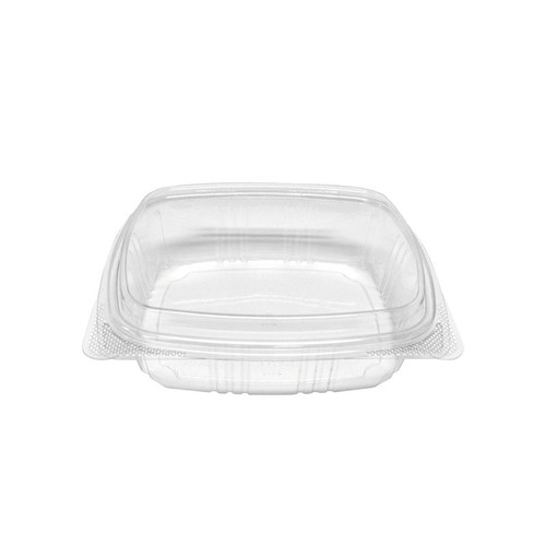 24 oz Dome RPET Hinged Lid Deli Container (200/Case)