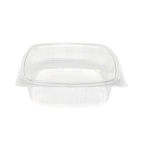 48 oz RPET Hinged Lid Deli Container (200/Case)