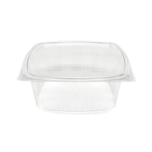 64 oz RPET Hinged Lid Deli Container (200/Case)