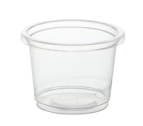 1 oz Clear PP Portion Cup (2500/Case)