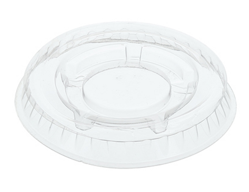 Clear Lids for .75 & 1 oz Clear PP Portion Cups (2500/Case)