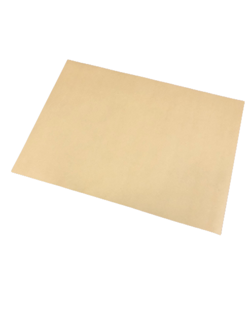 "10x14"" Straight Edge Natural Kraft Placemat (1000/Case)"