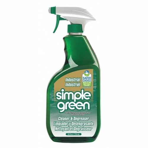 Simple Green Industrial Strength Cleaner & Degreaser, 24 oz (12/Case)