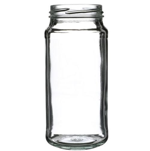 63-2030 Lug 16 oz Clear Flint Glass Paragon Tall Jar (12/Case)