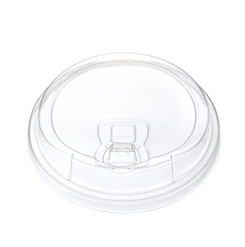 98mm Dome Strawless Sippy Lids for 12-24 oz Clear PET Cups (1000/Case)