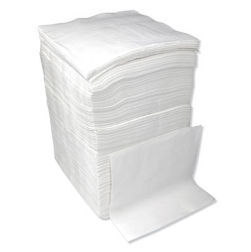White Lunch Napkins, 12 Packs of 500 (6000/Case)