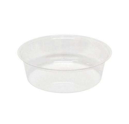 98mm 4 oz Parfait Insert for 12-24 oz Clear PET Cups (1000/Case)
