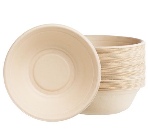 32 oz Round Pulp Fiber Bowl (500/Case)