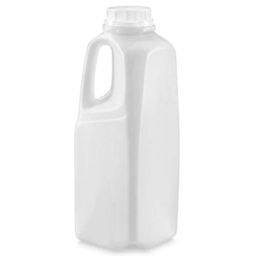 32 oz / 1 Liter Natural Milk Jug w/ Handle (192/Pack)