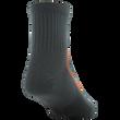 Men's Side Dash Flat Knit Ankle (White/Orange)