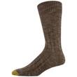 Men's Chevron Pop/Ribbed Dress Crew Socks, 2 Pairs (Chevron Pop/Ribbed)