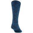 Men's Slub Mix Lodge Sustainable Crew Socks, 2 Pairs (Indigo Blue/Dark Turquoise)
