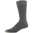 Men's Deer Plaid/Ribbed Dress Crew Socks, 2 Pairs (Deer Plaid/Ribbed)