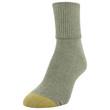 Women's Classic Turn Cuff Socks, 6 Pairs (Sangria, Oatmeal Heather, Bright Coral, Olive Heather, Bark Heather, Espresso)