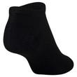 Women's Cushion No Show Socks, 10 Pairs (Black)