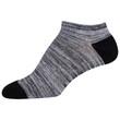Women's Cushion No Show Socks, 10 Pairs (White/Blue, White, White/Black, White/Purple, White/Pink, White/Teal)