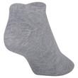 Women's Lightweight No Show Socks, 10 Pairs (Charcoal, Navy, Black, Grey Heather, White)