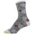 Women's Midi Crew Socks, 6 Pairs (Grey Heather, Heather Dark Grey, Oatmeal, Olive, Camel Heather, Brown Heather)