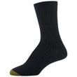 Gold Toe Women's Camp Crew Socks, 2 Pairs (Grey Marl, Black)
