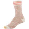 Women's Lux Spacedye Slub Crew Socks, 2 Pairs (Oatmeal, Olive)