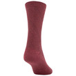 Women's Textured Crew Socks, 3 Pairs (Cabernet, Teal, Bright Coral)