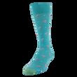Men's Flamingo Dots Crew Socks