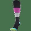 Women's Coolmax Color Block Compression Knee High