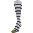 Women's Cotton/Rayon Simple Stripe Compression Knee High