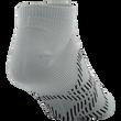 Men's Diamond Arch Flat Knit No Show (White/Teal)
