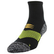 Men's Down Angle Strategic Cushion Ankle (Black/Yellow)