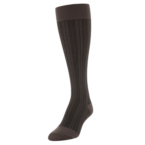 Women's Moderate Compression Herringbone Knee High