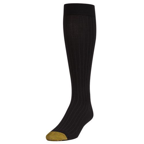 Men's Mild Compression Rib Pattern Over The Calf