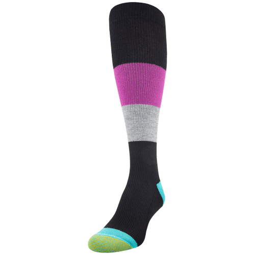 Women's Coolmax Color Block Compression Knee High