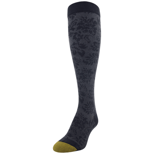 Women's Cotton/Rayon Tapestry Compression Knee High
