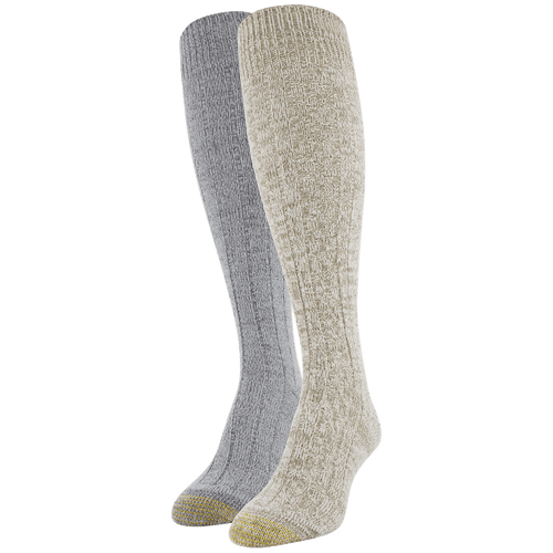 Women's Ultra Soft Recycled Cable Knee High