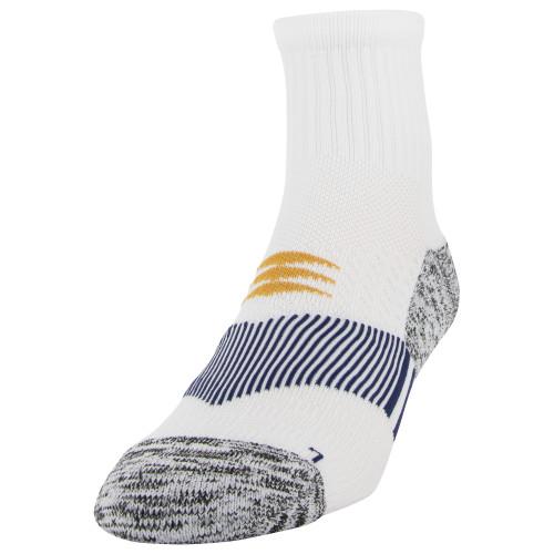 Men's Down Angle Strategic Cushion Ankle (White/Blue)