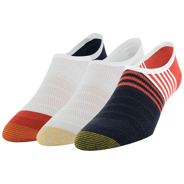 Men's Sta-Cool Color Block Sneaker Invisible