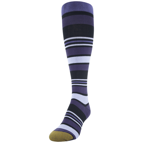 Women's Multistripe Compression Knee High