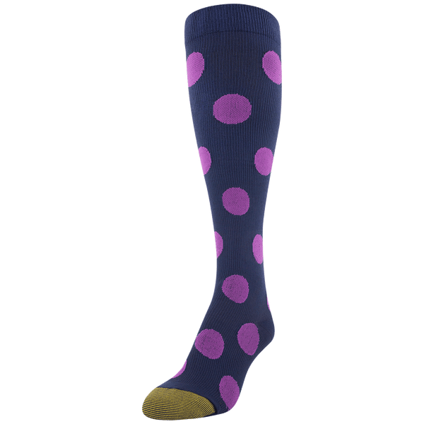 Women's Polka Dot Compression Knee High