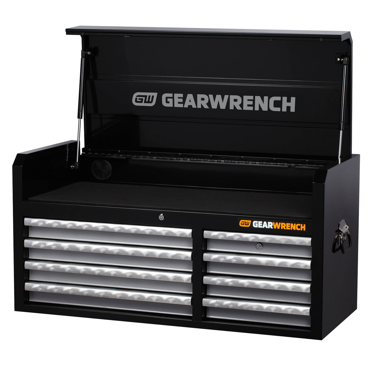 GEARWRENCH 42 inch 8 Drawer Chest XL Series toolbox– Black and Silver 83156N