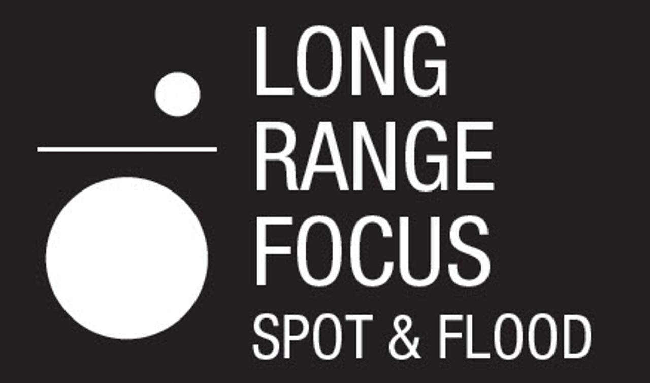 Coast Long Range Focusing LED Torch - 1005 Lumens 3 X D