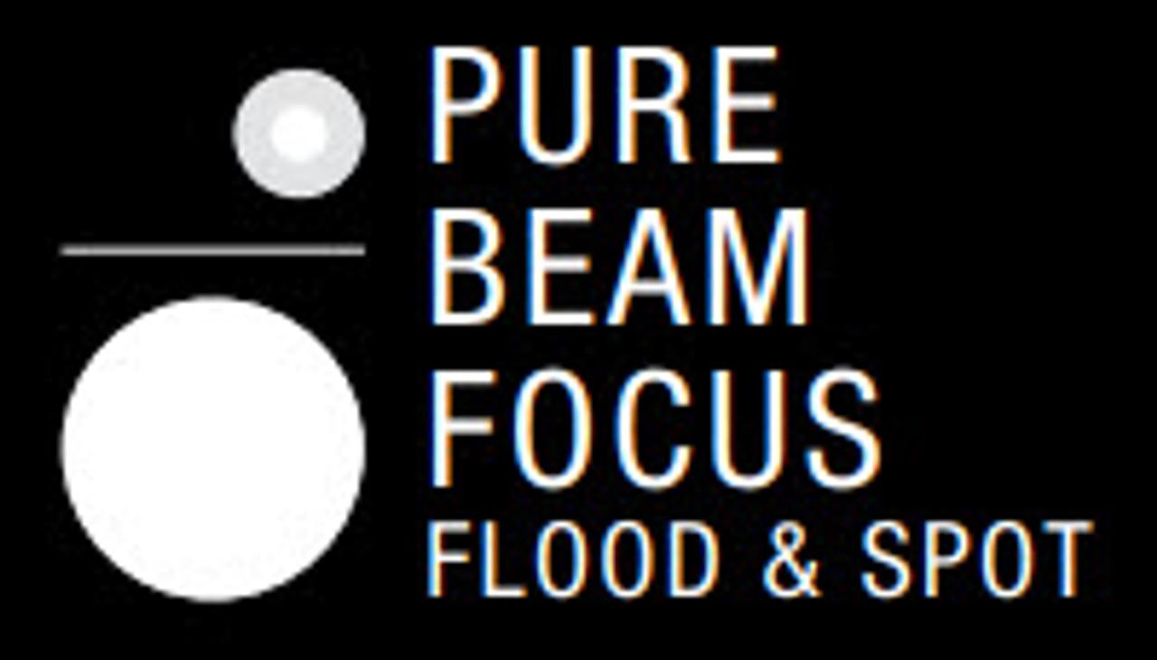 COAST POLYSTEEL 200 Pure Beam Focusing LED Torch - 320 Lumens 3 X AAA