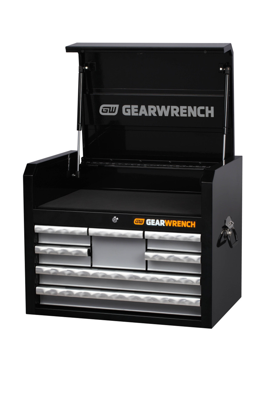 """Gearwrench 403 Pc Combination Tool Kit + 26"""" Tool Chest & Trolley"""